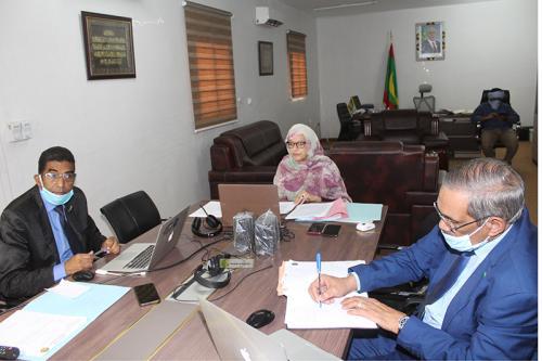 Madame la Ministre participe à la réunion des ministres de l'environnement de l'Union Africaine