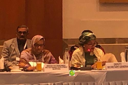 وزيرة البيئة تجري مباحثات مع الأمين التنفيذي لاتفاقية الأمم المتحد لمحاربة التصحر