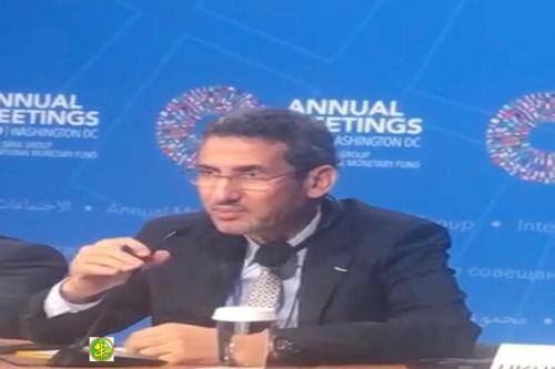 وزير المالية يعقد لقاءات في واشنطن