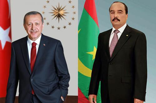 رئيس الجمهورية يهنئ الرئيس التركي