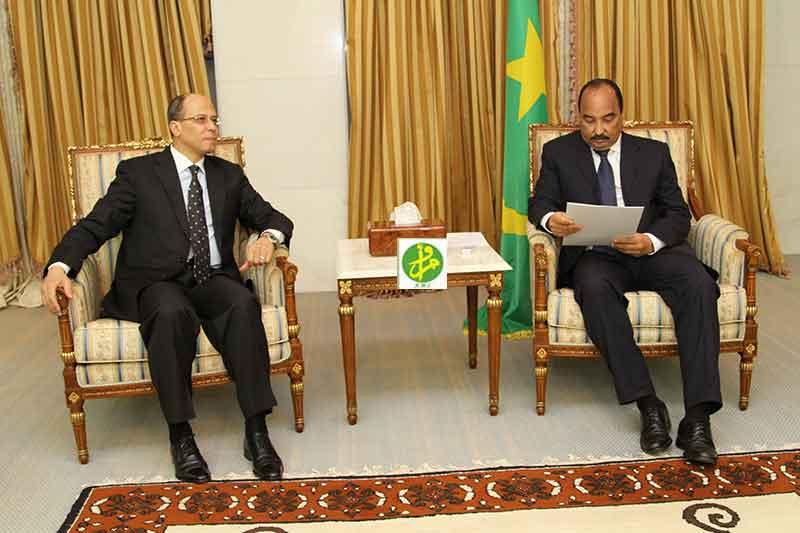 رسالة من الرئيس السيسي لنظيره الموريتاني