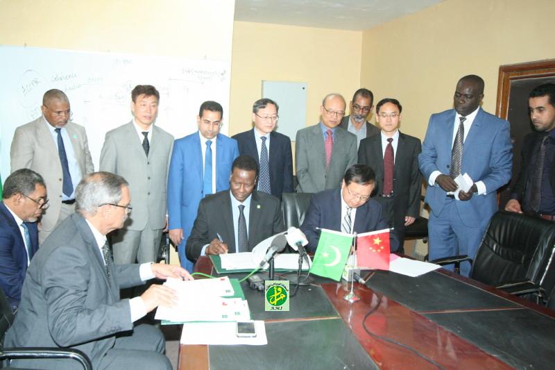 توقيع اتفاقيتي تعاون بين وزراة البيئة وأكاديمية الصين العلمية