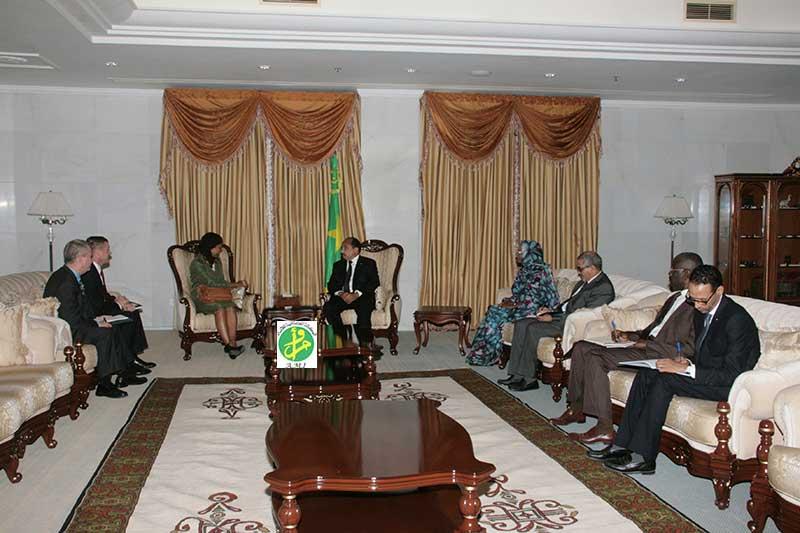 مباحثات موريتانية أمريكية بنواكشوط